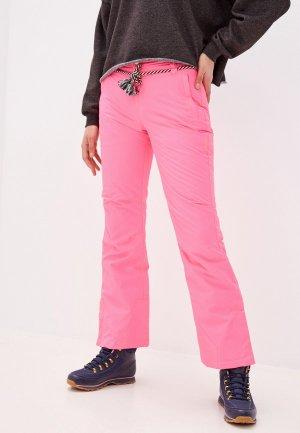Брюки горнолыжные Brunotti Dora. Цвет: розовый