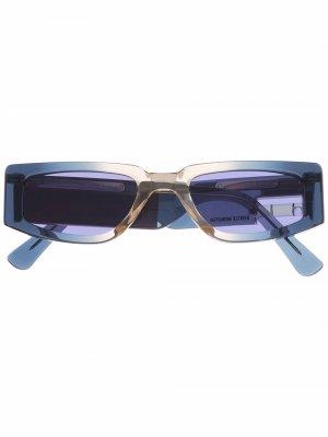 Солнцезащитные очки коллаборации с Gentle Monster Heron Preston. Цвет: фиолетовый