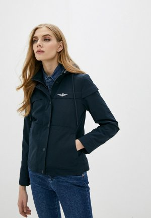 Куртка Aeronautica Militare. Цвет: синий