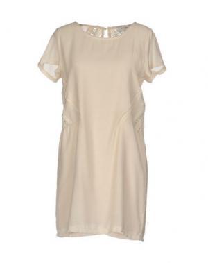 Короткое платье AXARA PARIS. Цвет: светло-розовый