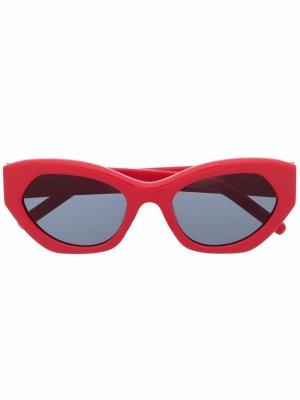 Солнцезащитные очки KZ40123I Kenzo. Цвет: красный