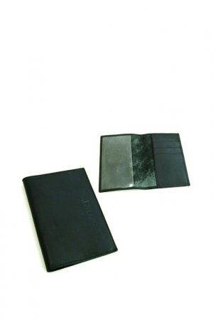 Обложка для паспорта Alliance. Цвет: черный