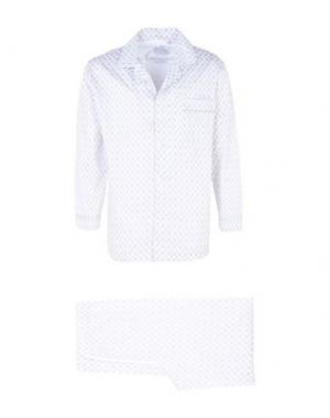 Пижама AMBASSADOR. Цвет: белый