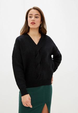 Пуловер Care of You. Цвет: черный