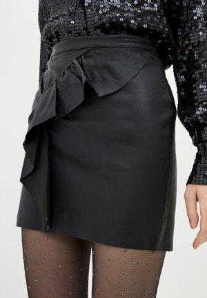 Юбка Ba&Sh. Цвет: черный
