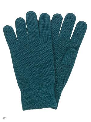 Перчатки United Colors of Benetton. Цвет: зеленый, белый