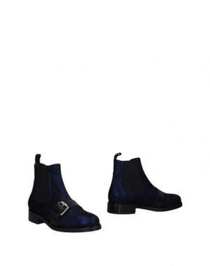 Полусапоги и высокие ботинки GIANCARLO PAOLI. Цвет: темно-синий