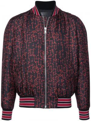 Куртка-бомбер с принтом Givenchy