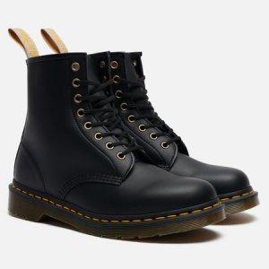 Ботинки 1460 Vegan Felix Rub-Off Dr. Martens. Цвет: чёрный