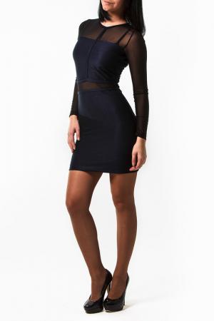 Платье Fervente. Цвет: синий