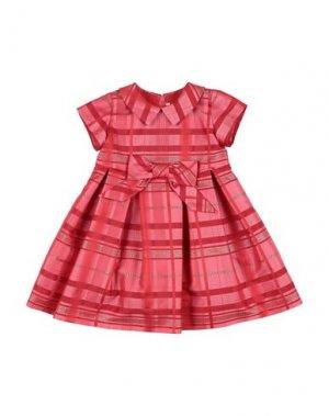 Платье LòLò. Цвет: красный