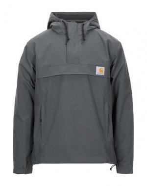 Куртка CARHARTT. Цвет: свинцово-серый