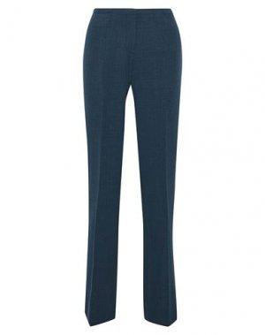 Повседневные брюки ELIE TAHARI. Цвет: темно-синий