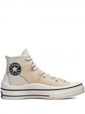 Высокие кеды Kim Jones Converse. Цвет: белый