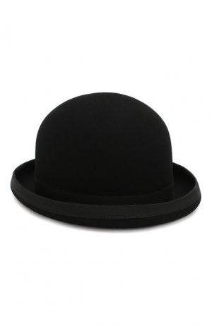 Шерстяная шляпа Ralph Lauren. Цвет: чёрный