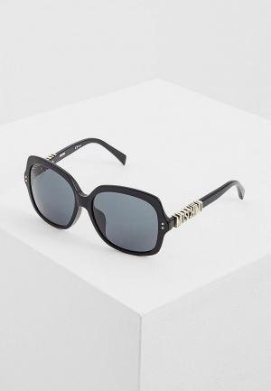 Очки солнцезащитные Moschino MOS014/F/S 807. Цвет: черный