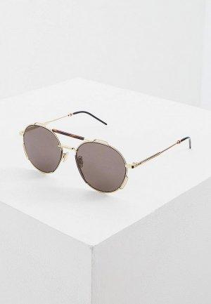 Очки солнцезащитные Christian Dior Homme DIOR0234S 06J. Цвет: золотой