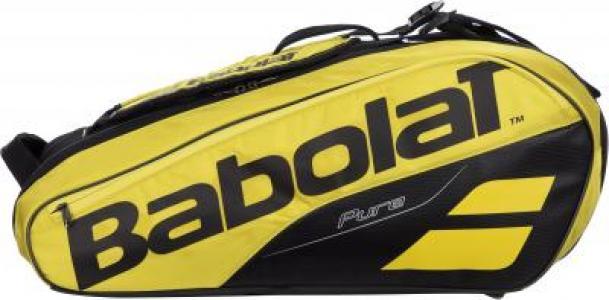 Сумка для 6 ракеток PURE AERO Babolat. Цвет: желтый