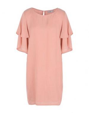 Короткое платье MINIMUM. Цвет: лососево-розовый
