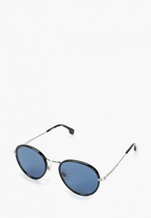 Очки солнцезащитные Carrera 151/S DOH. Цвет: черный