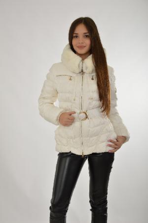 Куртка La Reine Blanche. Цвет: белый