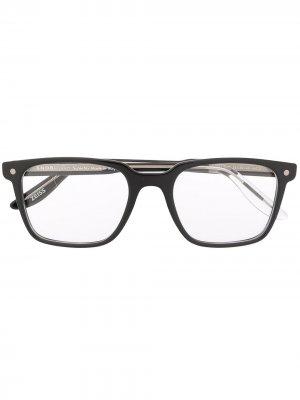 Очки Omen в квадратной оправе Snob. Цвет: черный