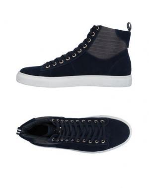 Высокие кеды и кроссовки MARINA YACHTING. Цвет: темно-синий