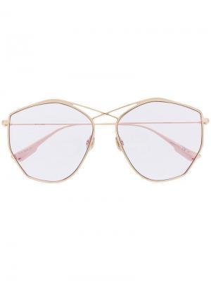 Солнцезащитные очки DiorStellaire4 Dior Eyewear. Цвет: золотистый