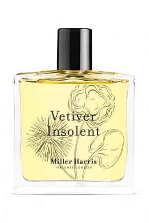 Парфюмерная вода Vetiver Insolent, 100 ml Miller Harris. Цвет: без цвета