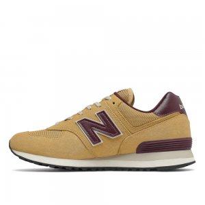 574 New Balance. Цвет: коричневый