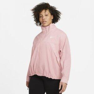 Женская куртка Nike Air (большие размеры) - Розовый