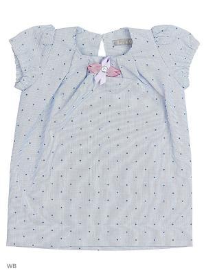 Платье туника в горошек Gioia di Mamma