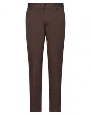 Повседневные брюки HAMAKI-HO. Цвет: коричневый