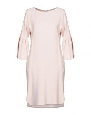Платье до колена GOSSIP. Цвет: светло-розовый