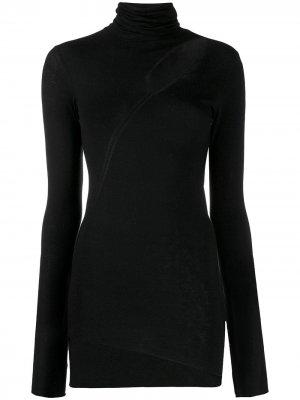 Приталенный свитер Mercurio с вырезной деталью 8pm