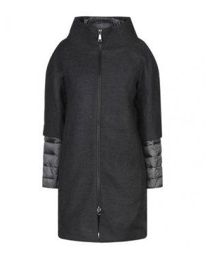 Пальто ADHOC. Цвет: стальной серый