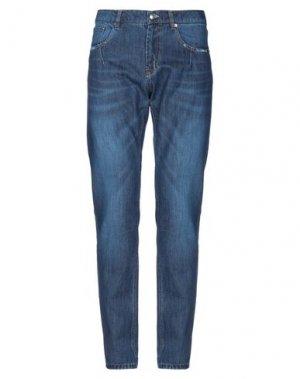 Джинсовые брюки LHU URBAN. Цвет: синий