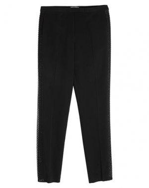 Повседневные брюки ELIE SAAB. Цвет: черный