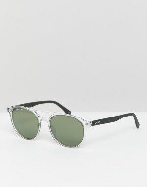 Круглые солнцезащитные очки L881S-Черный Lacoste
