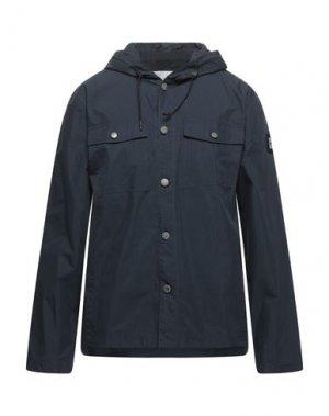 Легкое пальто CATERPILLAR. Цвет: темно-синий