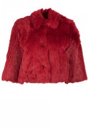 Шуба VALENTINO RED. Цвет: красный