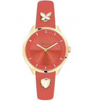 Часы с металлической отделкой на браслете Pin Furla