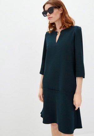 Платье Gerard Darel. Цвет: зеленый