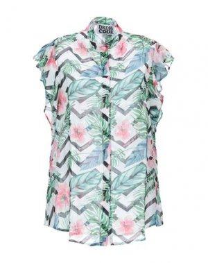 Pубашка DRESS CODE. Цвет: зеленый