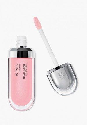Блеск для губ Kiko Milano смягчающий с трехмерным эффектом 3D HYDRA LIPGLOSS, оттенок 06, Candy Rose, 6.5 мл. Цвет: розовый