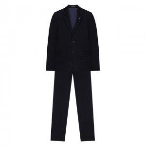Костюм из брюк и пиджака Alessandro Borelli Milano. Цвет: синий