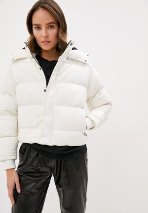 Куртка кожаная Iro. Цвет: белый