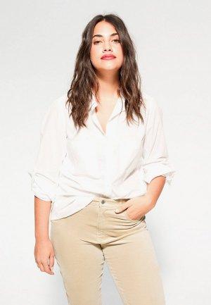 Блуза Violeta by Mango - PLANA6. Цвет: белый