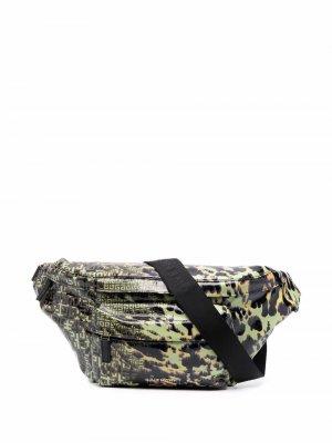 Поясная сумка Essentiel U Givenchy. Цвет: зеленый