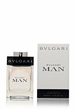 Туалетная вода Bvlgari Man 100 мл. Цвет: белый
